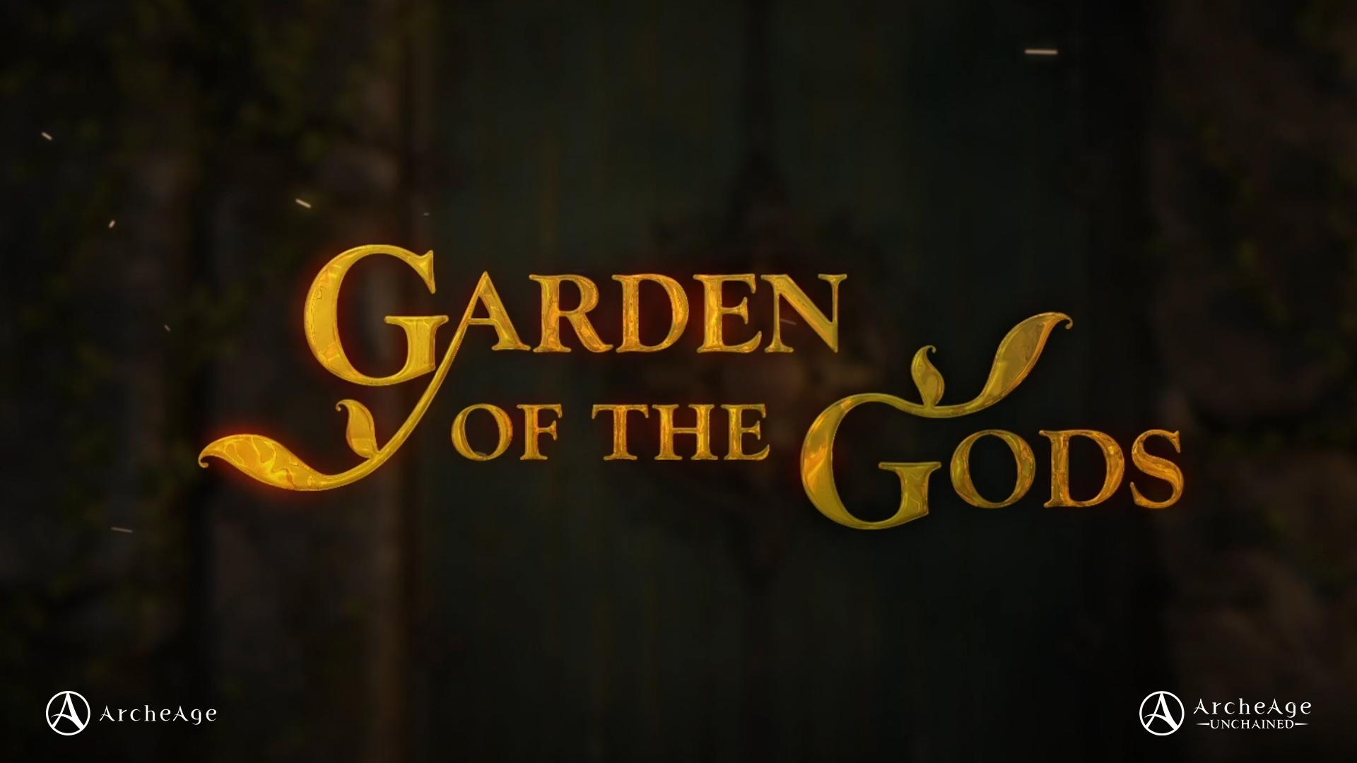 Garten der Götter – JETZT LIVE!