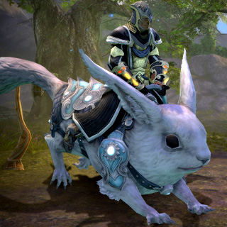 White Dire Riding Squirrel