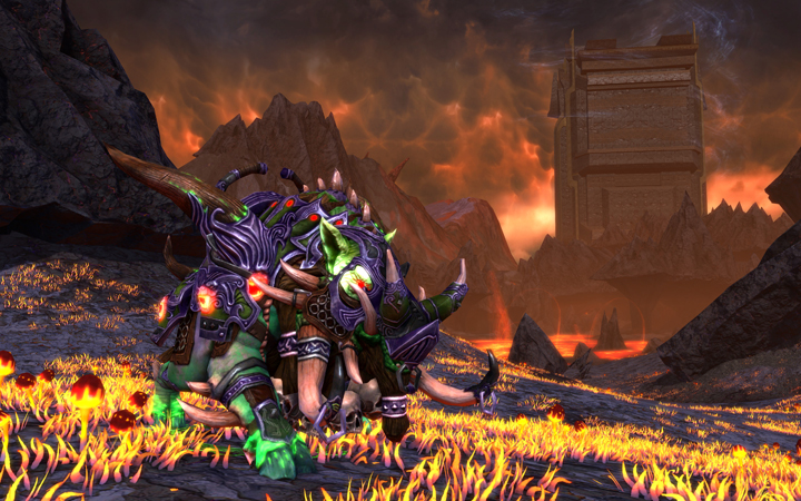 Nightmare Razorback Mount