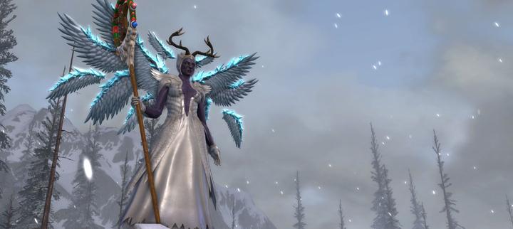 Fae Yule Queen Una Outfit, Crystalline Wings, Etc.