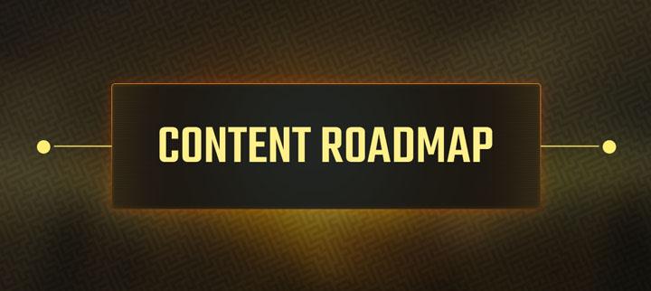 content roadmap plans for paradise
