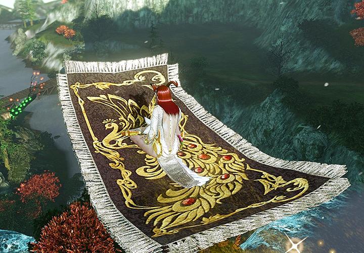 Come with us on a Magic Carpet ride! | ArcheAge